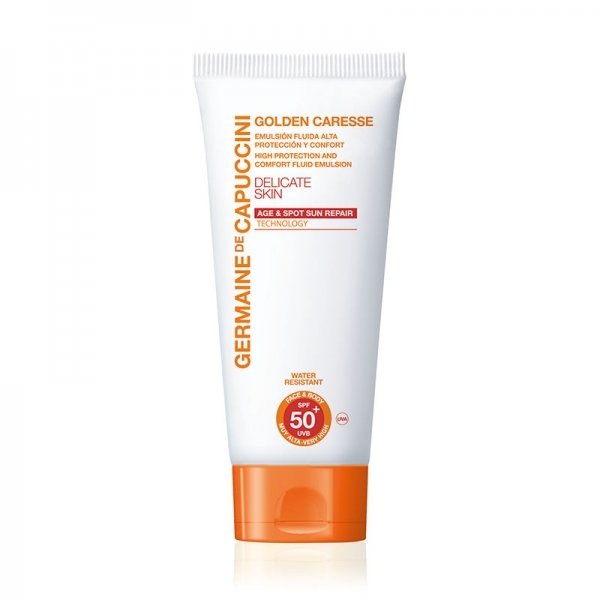 Golden Caresse High Protection Emulsion for Face & Body SPF50+