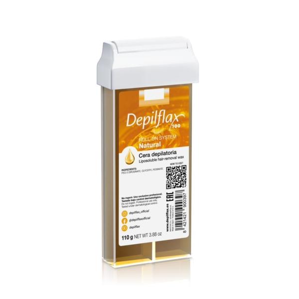 Κερί Αποτρίχωσης Depilflax Roll-on Μέλι